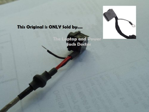 Trade-mark NEW Power Jack Right Angle side wire/strand Sony VAIO Sony VAIO VPCF126FM, VPCF126FM/B, VPCF127FX, VPCF127FX/B, VPCF127FX/H, VPCF1290X, VPCF12AFM, VPCF121FX, VPCF12AFM/H, VPCF12BFX, VPCF12BFX/B, VPCF12BFX/H, VPCF12CFX, VPCF12CFX/B, VPCF12CFX/H,