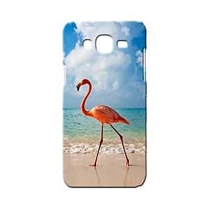 BLUEDIO Designer 3D Printed Back case cover for Samsung Galaxy E7 - G5498