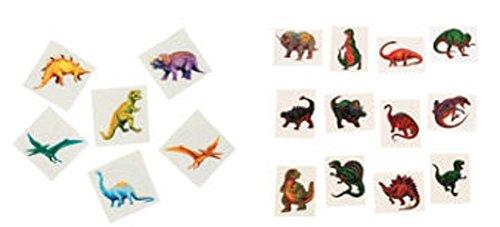 Dinosaur Tattoos Set (2 Sets) 12 Dozen