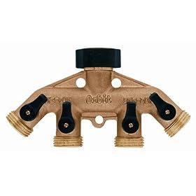 Orbit 62010 Brass Hose Faucet Manifold