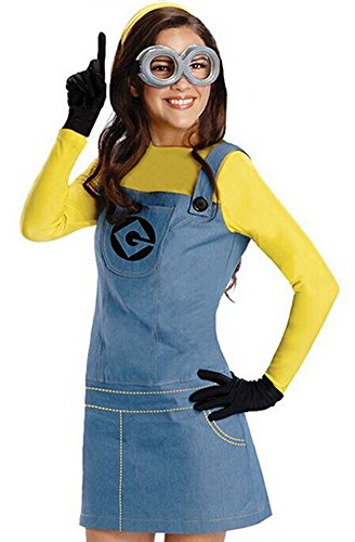 Sixkiss Despicable Me Women's Minion Costumes