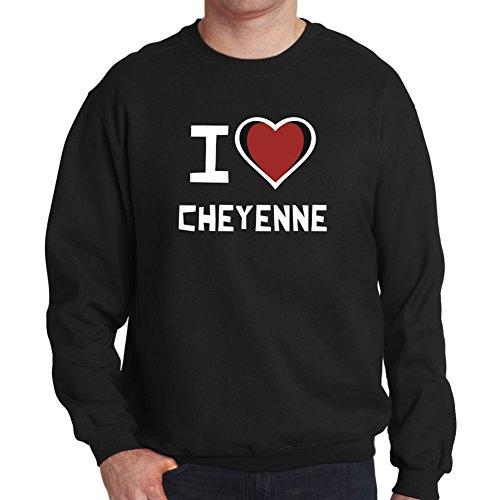 Felpa I love Cheyenne