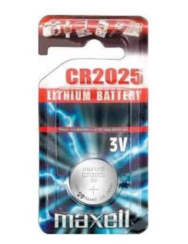 Maxell Lot de 5 piles au Lithium 3 V CR2025 Pile bouton CR 2025 DL2025