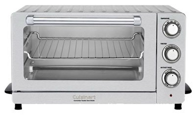 Cuisinart TOB-60N Convection Toaster Oven Broiler, Brushed Stainless Steel, .6-Cu. Ft. by Cuisinart