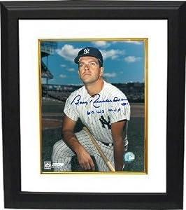 Bobby Richardson signed New York Yankees Color 8x10 Photo 60 WS MVP Custom Framed (on...