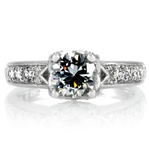Celebrity Star Emitations Shantae'S Engagement Ring - 1 Ct Butterfly Set Cz Size 5
