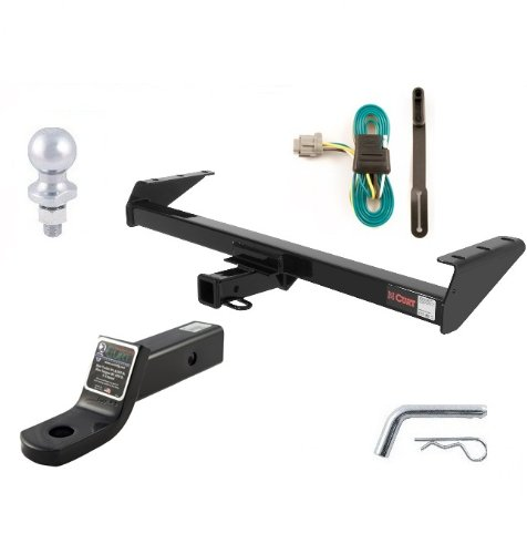 Curt 13241-55441-45030-40004-21500 Trailer Hitch and Tow Package (Curt Trailer Hitch 13241 compare prices)