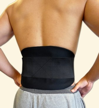 Waist / Back Support. Hot & Cold Therapy Brace -Heat and Cool for Pain Relief or Muscle Strain.