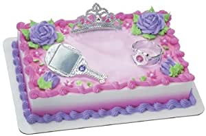 Pretty Princess Cake Decoration Kit: Amazon.com: Grocery ...
