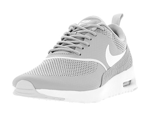Nike Women's Air Max Thea Matte Silver/Summit White Running Shoe 8 Women US (Nike Women Air Max compare prices)