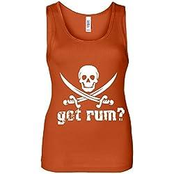 Jolly Rodger Got Rum? Women's Tank Top