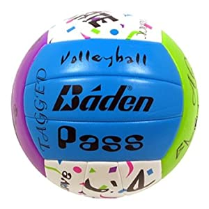 Click here to buy Baden MatchPoint Sayings Official Cushioned Volleyball by Baden.