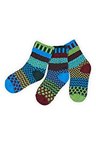 Solmate June Bug Kids Mismatched Made in USA Socks