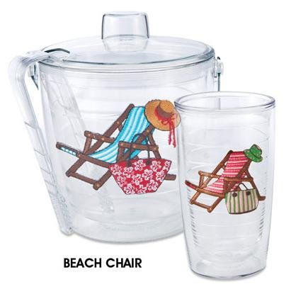 Tervis Tumbler Insulated Folding Adirondack Beach Chair ICE Bucket