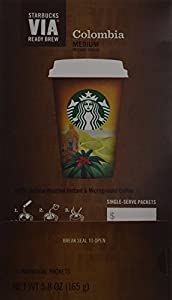 Starbucks VIA® Ready Brew Colombia Coffee (Colombia, 150 count)