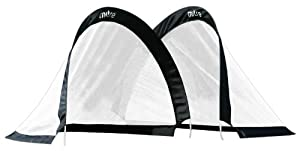 Mitre Foldable Goal (M) - Black - 121X81X81