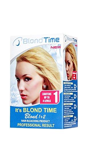 Confezione Risparmio 2 x Blond 1 2 Prodotto Per Denti, Asciugacapelli, Blond Time