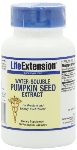 pumpkin seed oil for incontinence
