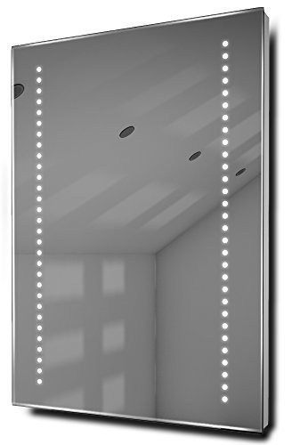 Gaze Shaver Led Bathroom Illuminated Mirror With Demister Pad & Sensor K10S
