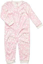 Carter\'s Baby Girl\'s Infant Long Sleeve One Piece Fleece Print Coverall - Floral Patterns-24 Months