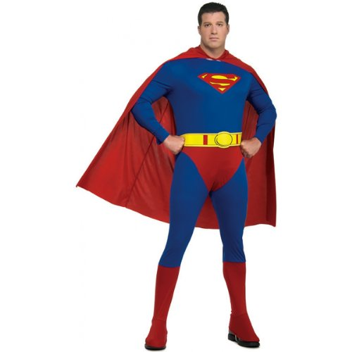Superman Costume - Plus Size - Chest Size 46-50