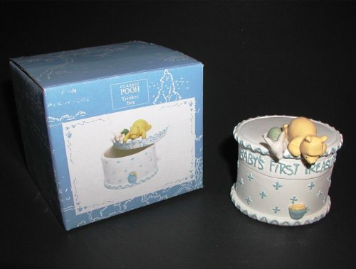 Disney, Classic Pooh Babys First Treasures Trinket Box - 1