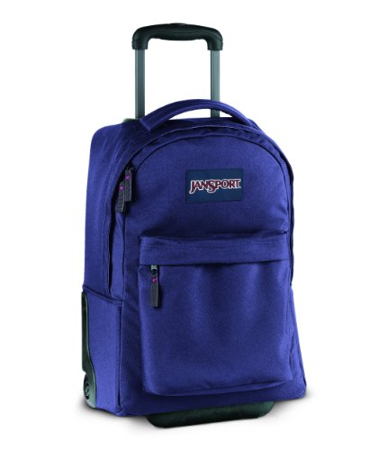 JanSport Wheeled Superbreak School Backpack (Electric Purple)