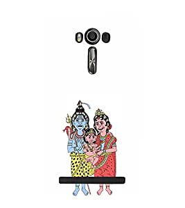 EPICCASE lord shiva family Mobile Back Case Cover For Asus Zenfone Go (Designer Case)