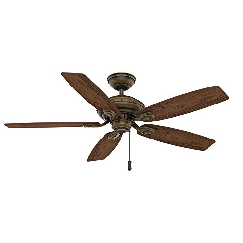Casablanca 54036 Utopian 52-Inch 5-Blade ETL Rated Ceiling Fan, Aged Bronze with Dark Walnut all-Weather Blades (Casablanca Utopian Ceiling Fan compare prices)