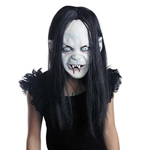 Halloween Horror Screaming Witch Ghost Vampire Latex Facemask Mask Halloween Costumes