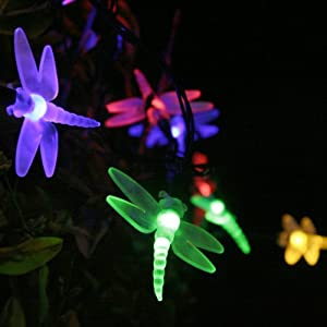Solar garden led fairy lights