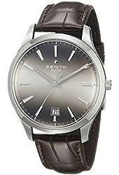 Zenith Men's 032020670.22C Class EL Analog Display Swiss Automatic Brown Watch