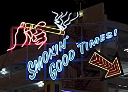 Smokin' Good Times in Las Vegas Photograph - Beautiful 16x20-inch Photographic Print by Carol M. Highsmith