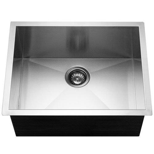 Houzer CTS-2300-1 Contempo 23-by-18-Inch Undermount Single Bowl Stainless Steel Sink