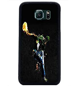 PrintDhaba Dancing Boy D-2212 Back Case Cover for SAMSUNG GALAXY S6 EDGE (Multi-Coloured)