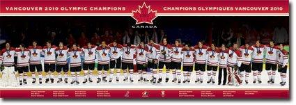 Hockey Canada Team Door Poster 21X62 Olympic Team 2041
