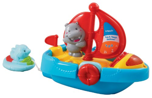 VTech - Tug And Teach Sailboat Bath Toy - 1