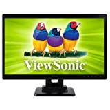 Viewsonic TD2420 24 LED Touchscreen Monitor 5ms 1920x1080 1000:1 200 Nit Speaker DVI/HDMI/VGA Speaker