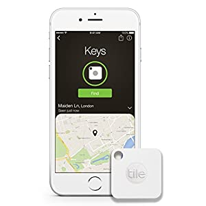 Tile Mate Key Finder, Phone Finder, 4-pack
