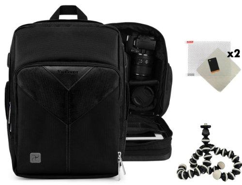 Sparta Adventure Backpack Bag For Olympus Pen E-P5 / Pen E-Pl5 / Pen E-Pm2 Digital Camera + Screen Protector (X2) + Mini Tripod
