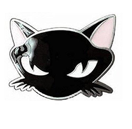 Black Cat belt buckle