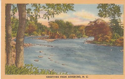 Asheboro, North Carolina postcard
