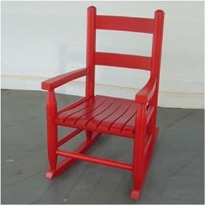 Amazon Child s Rocking Chair Finish Red