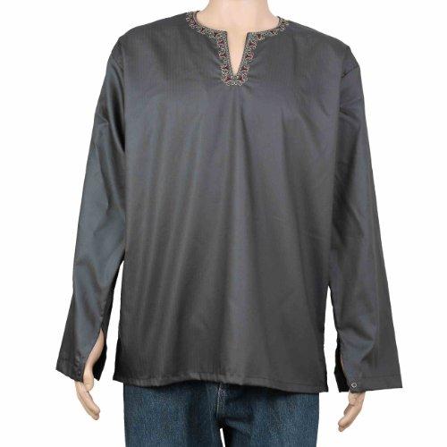 Kurta Indian Clothing Cotton Loose Shirts For Men Dress