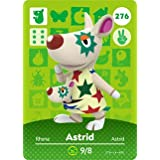 Astrid - Nintendo Animal Crossing Happy Home Designer Amiibo Card - 276