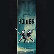 Homer: The Essential Homer Audiobook by  Homer, Susan Sarandon (introduction), Stanley Lombardo (translator) Narrated by Stanley Lombardo, Susan Sarandon
