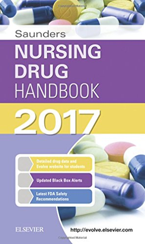Saunders Nursing Drug Handbook 2017, 1e