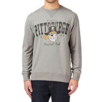 47 Brand Mens Notre Dame Co-sign Crew Arch Sweatshirt by