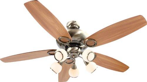 Globo Mistral 0336 - Ventilatore a pale da soffitto con luce inclusa (con interruttore)