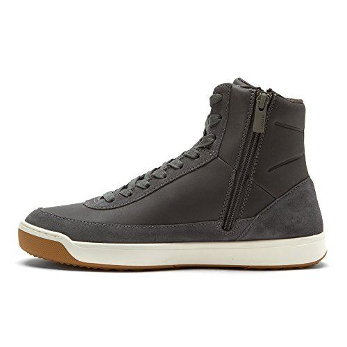 Lacoste Women's Explorateur Calf 316 2 Caw Dk Gry Fashion Sneaker, Dark Grey, 8 M US